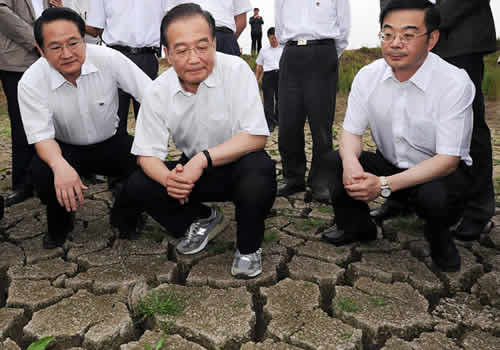 Chinese Premier Calls for More Efforts to Fight Against Drought