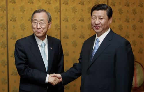 Chinese Vice President Calls on UN to be More Concerned with the Development Issue