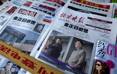 What does Kim Jong Il's death mean to Chinese?