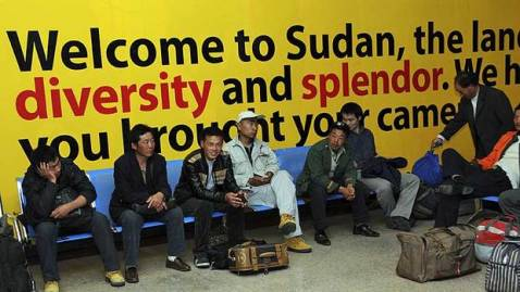 14 kidnapped Chinese were released by the Sudanese army