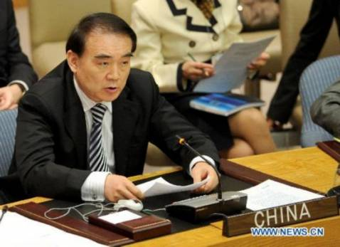China opposes the use of force to resolve the crisis in Syria