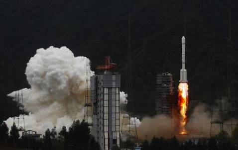 China launches French-made communication satellite