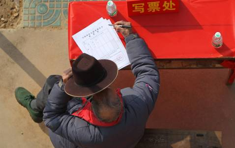 Wukan elected its village committee