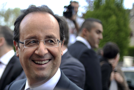 European leaders congratulate Hollande over French election victory