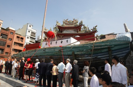 """Miraculous ship """"Free China"""" returns to Keelung after 57 years"""