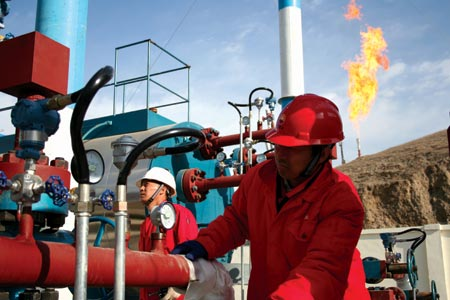 Xinjiang Mahe gas field output exceeds 4 bln cubic meters