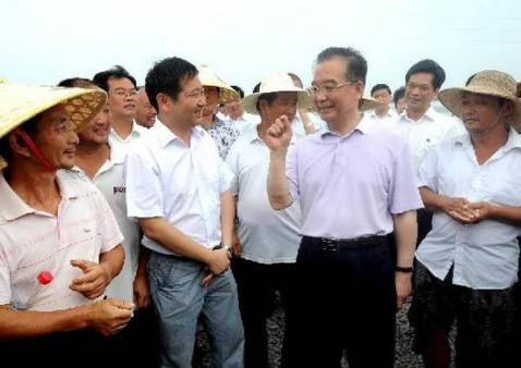 Premier Wen Jiabao calls for improved flood control