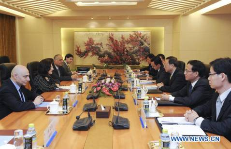 Foreign Minister Yang Jiechi meets Syrian president's special envoy