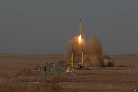 Iran tests missile with new guidance system
