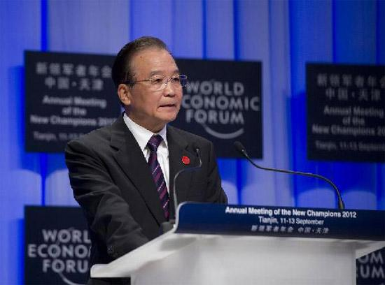 Premier Wen predicts China's future in Davos address