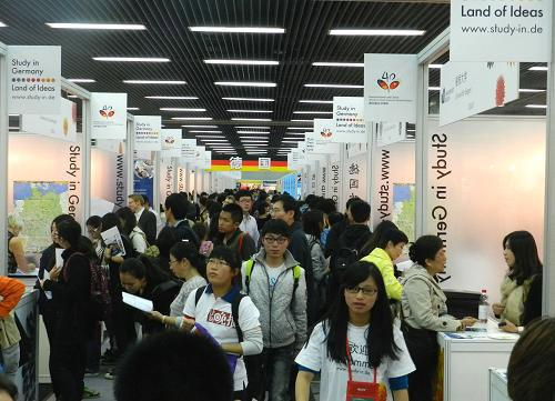 China Education Expo opens in Beijing