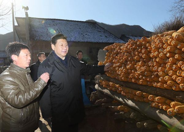 Xi Jinping urges greater poverty-alleviation efforts