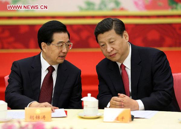 China's leaders celebrate New Year with political advisors