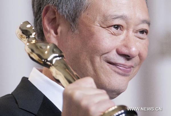 Ang Lee wins Oscar Award for Best Director