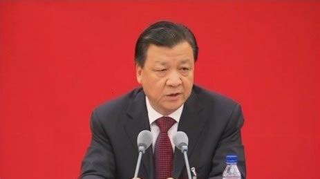 Liu Yunshan attends Party School opening ceremony